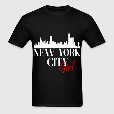 New York - New York city girl. - Men's T-Shirt