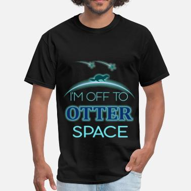 In Otter Space Otters - I'm off to otter space - Men's T-Shirt