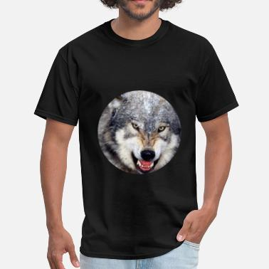 The Wolf Wolf - Wolf - Men's T-Shirt