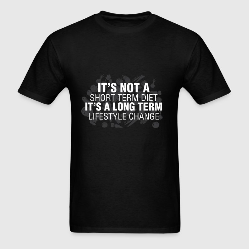 Health And Lifestyle - It's not a short term diet  - Men's T-Shirt