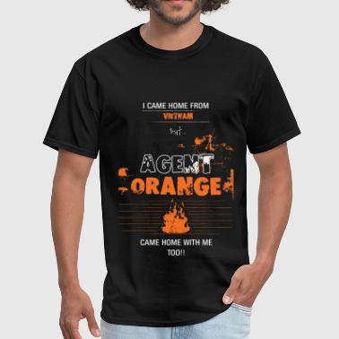 Agent Orange -I came home from Vietnam, but... Age - Men's T-Shirt