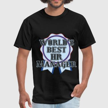 HR Manager - World's best HR Manager - Men's T-Shirt