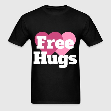 Hug - Free hugs - Men's T-Shirt