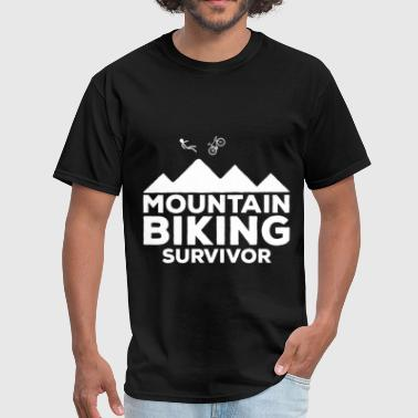Mountain biking - Mountain biking survivor - Men's T-Shirt