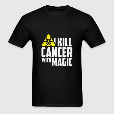 Radiation Therapist - I kill cancer with magic - Men's T-Shirt