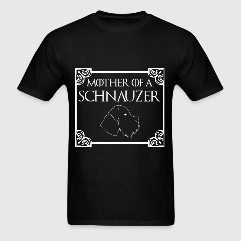 Schnauzer - Mother of a schnauzer - Men's T-Shirt