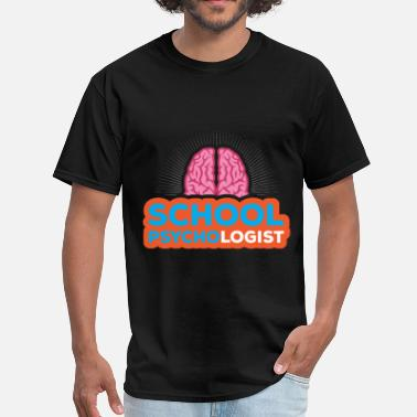 Psychologist Art School Psychologist - School Psychologist - Men's T-Shirt