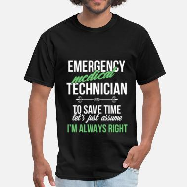 Emergency Medic Emergency medical technician - Emergency medical t - Men's T-Shirt
