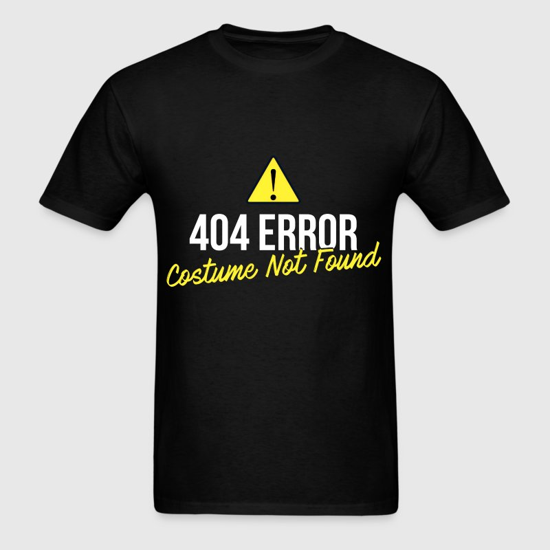 Programmer - 404 Error Costume Not Found - Men's T-Shirt