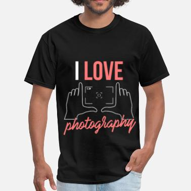 I Love Photography Photography - I love photography - Men's T-Shirt