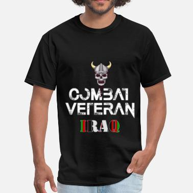 Veterans Art Iraq veteran - Combat Veteran - Iraq - Men's T-Shirt