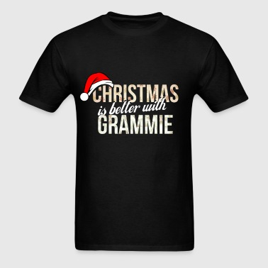 Grammie - Christmas is better with Grammie - Men's T-Shirt