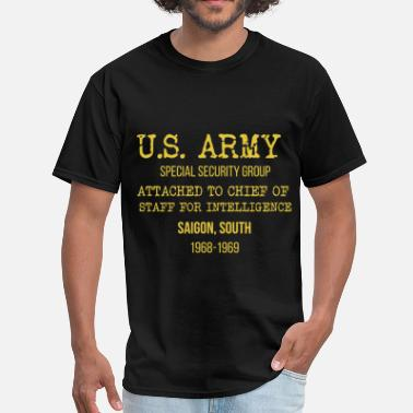 U.s. Army U.S. Army - U.S. Army Special Security Group attac - Men's T-Shirt