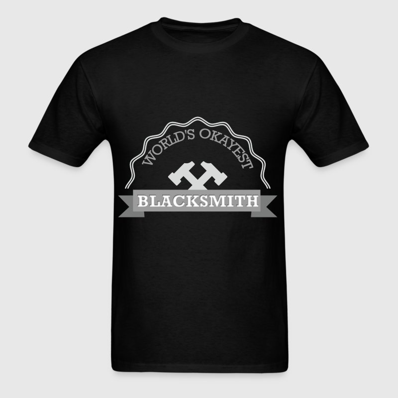 Blacksmith - World's okayest blacksmith - Men's T-Shirt