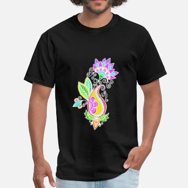 Fantasy art Flower - Men's T-Shirt