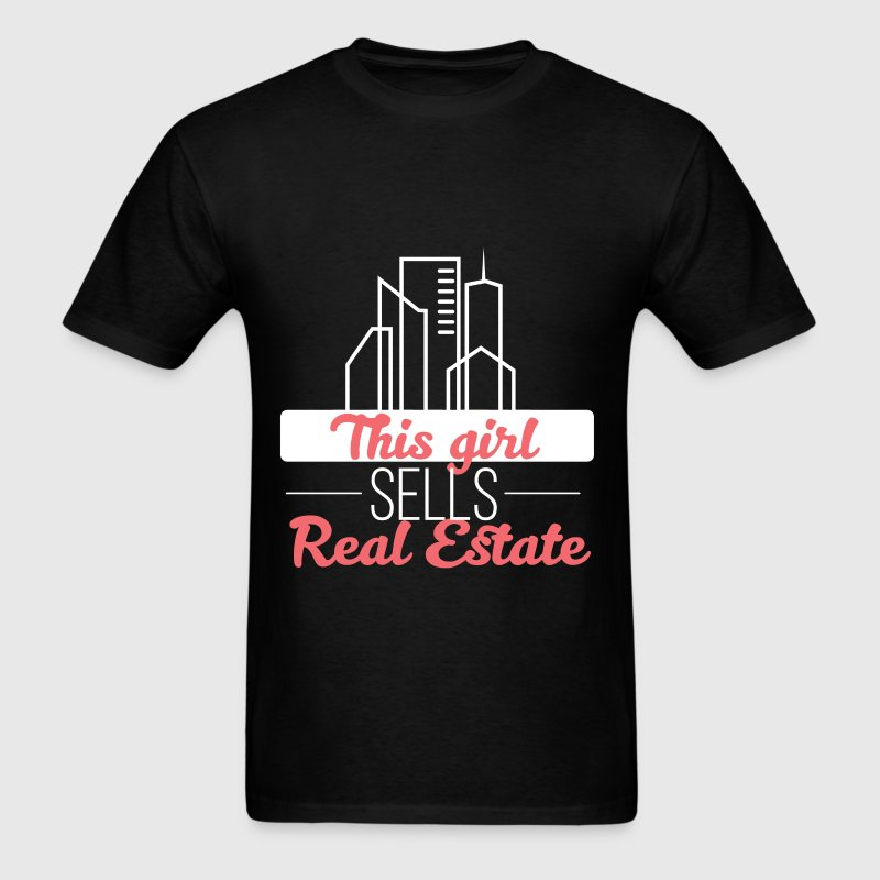 Real Estate - This girl sells real estate - Men's T-Shirt