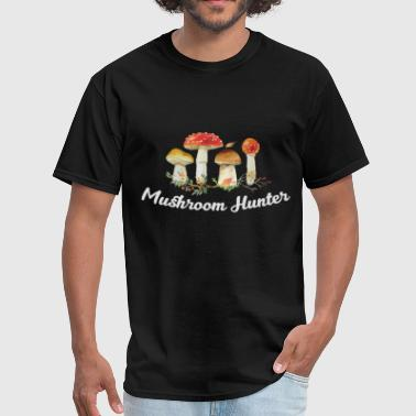 Mushroom Hunting - Mushroom hunter - Men's T-Shirt