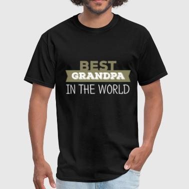 Grandpa - Best grandpa in the world - Men's T-Shirt