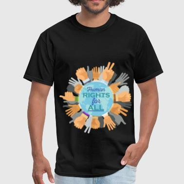 Human Rights - Human rights for all - Men's T-Shirt