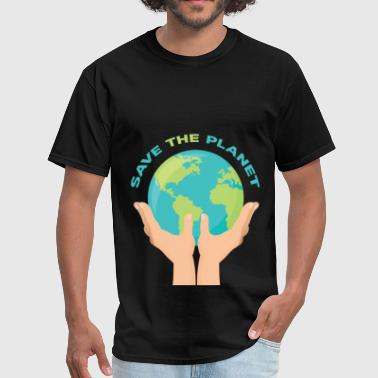 Planet - Save the planet - Men's T-Shirt
