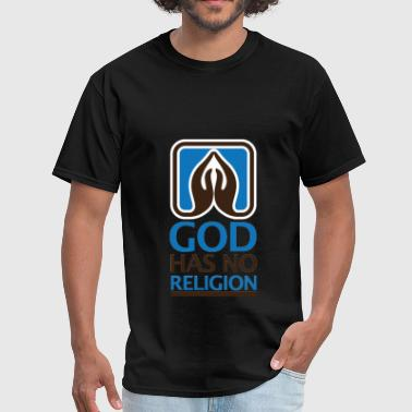 Religion - God has no religion - Men's T-Shirt