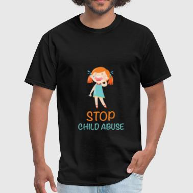 Child abuse - Stop child abuse - Men's T-Shirt