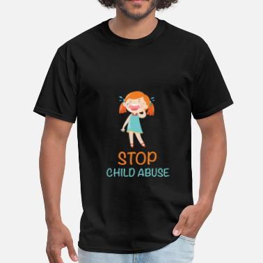 Stop Abuse Child abuse - Stop child abuse - Men's T-Shirt