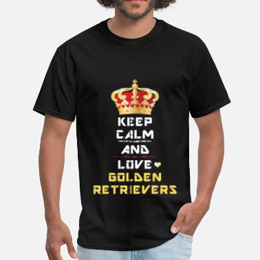 Keep Calm Golden Retriever - Keep Calm and Love Golden Retri - T-shirt pour hommes