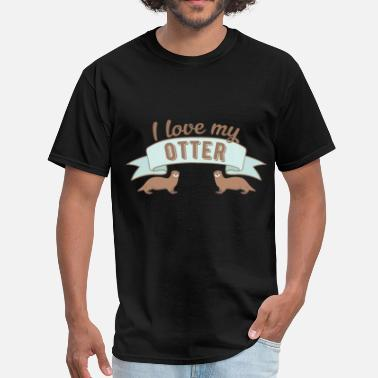 This Is My Otter Otter - I love my Otter - Men's T-Shirt