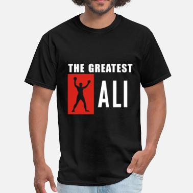 Ali the greates ali - Men's T-Shirt