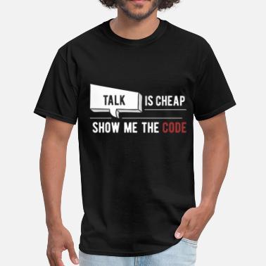 09364d87 Show Me The Code Developer - Talk is cheap, show me the code - Men&