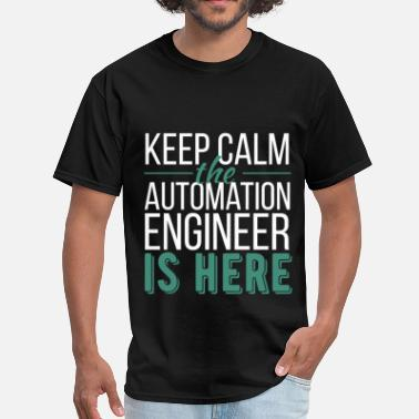 Automation Engineer Automation Engineer - Keep calm the Automation Eng - Men's T-Shirt