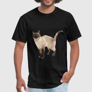 Siamese cat - Men's T-Shirt