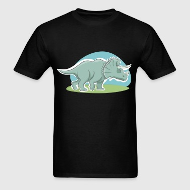 Triceratops - Men's T-Shirt