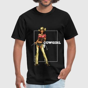Cowgirl - Cowgirl - Men's T-Shirt
