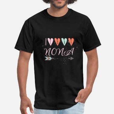 Nona Apparel Nona - I love NONA - Men's T-Shirt