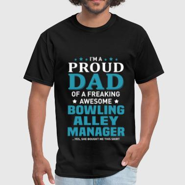 Bowling Alley Manager - Men's T-Shirt