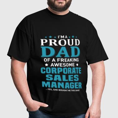 Corporate Sales Manager - Men's T-Shirt