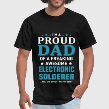 Awesome Electronics Electronic Solderer - Men's T-Shirt