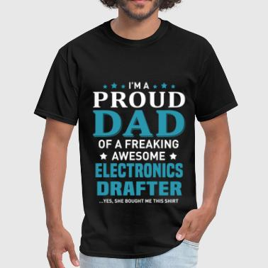 Awesome Electronics Electronics Drafter - Men's T-Shirt