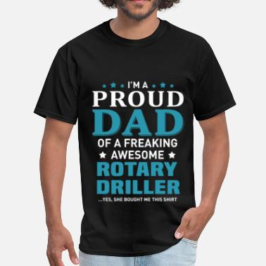 Rotary Rotary Driller - Men's T-Shirt