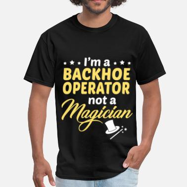 Backhoe Backhoe Operator - Men's T-Shirt