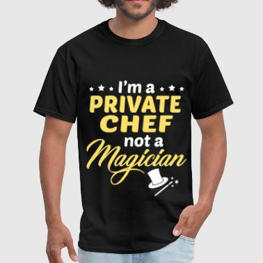 Private Chef - Men's T-Shirt