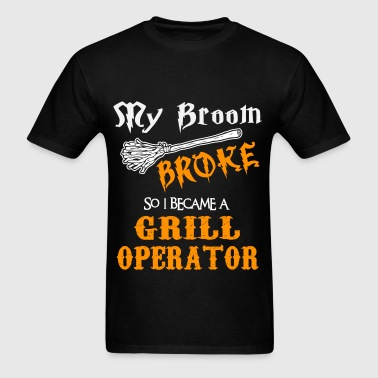 Grill Operator - Men's T-Shirt