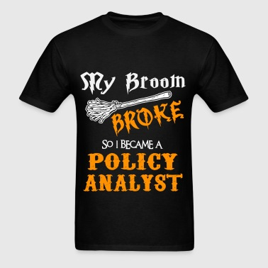 Policy Analyst - Men's T-Shirt