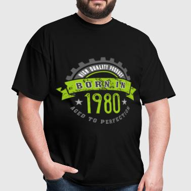 Born in the year 1980 b - Men's T-Shirt