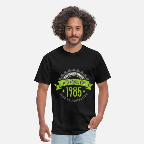 Age T-Shirts - Born in the year 1985 b - Men's T-Shirt black