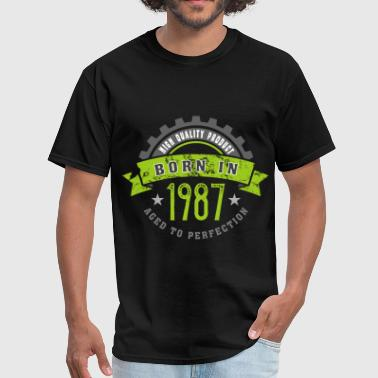 Born in the year 1987 b - Men's T-Shirt