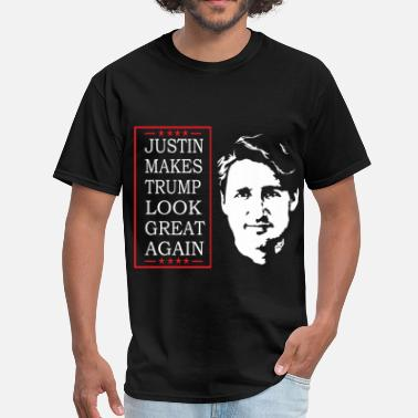 Trudeau Just-thinking - Men's T-Shirt