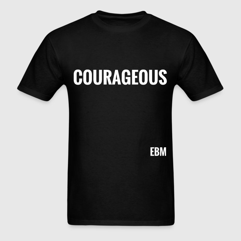 Courageous Black Male Tee - Men's T-Shirt